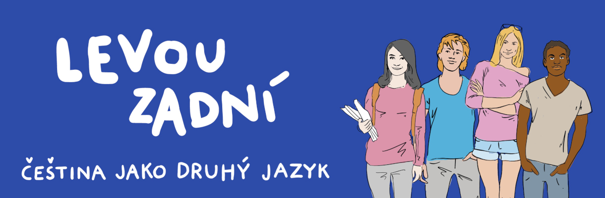 Levou zadní  učebnice češtiny jako druhého jazyka